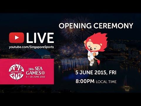 Opening Ceremony (National Stadium) | 28th SEA Games Singapore 2015