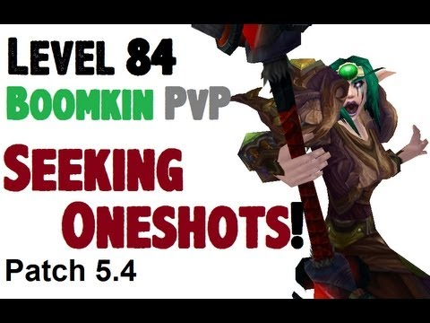 Asterial - Level 84 Boomkin Druid Twink Pvp - Mop Patch 5.4.0 video
