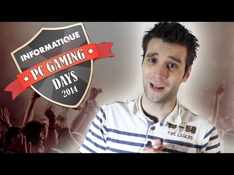 de DDG MEETING!! Informatique Gaming Days 2014