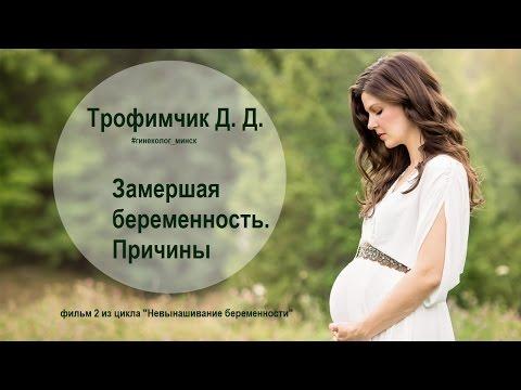 Две замершие беременности причина