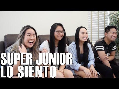 Super Junior (슈퍼주니어) - Lo Siento (Reaction Audio)