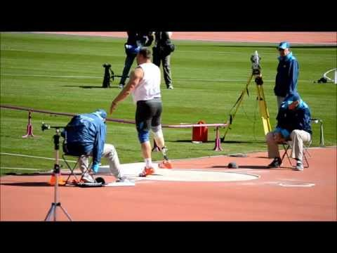 London Shot Put F