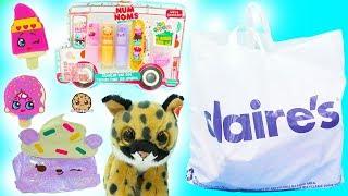 Claire's Haul - Cute Beanie Boo's, Scented Num Noms Nail Polish, Shopkins + More