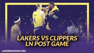 Lakers Discussion: Lakers Beat the Clippers on a Career Night From Alex Caruso