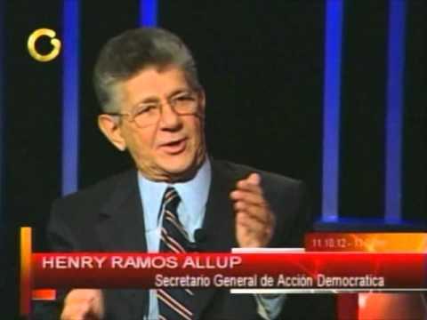 Henry Ramos Allup en el programa Yo Prometo con Nitu Perez Osuna 14 10 12