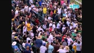 Brad Haddin vs Paul Harris Perth 2008-09
