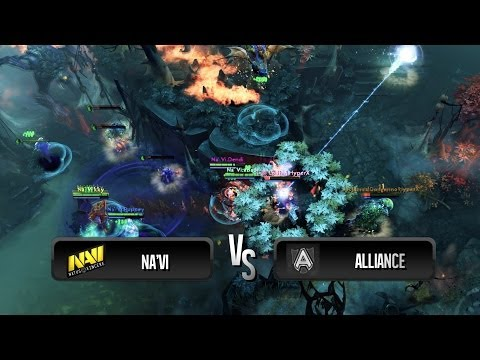 Team wipe by Na'Vi vs Alliance @ Starseries IX Europe