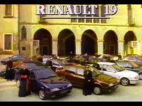 Reklama Renault 19 1994 Polska