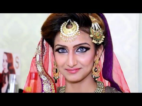 Arabian Bridal Look by Cleopatra Beauty Lounge   Richa Agarwal   Candid Kapture
