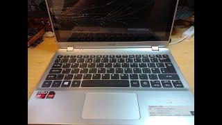 Acer Aspire V5-122P Replace Damaged Screen and Digitizer