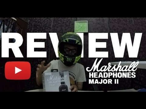 Motovlogger Bikin Review #2 - Review Hands On Marshall Major II Headphones Indonesia