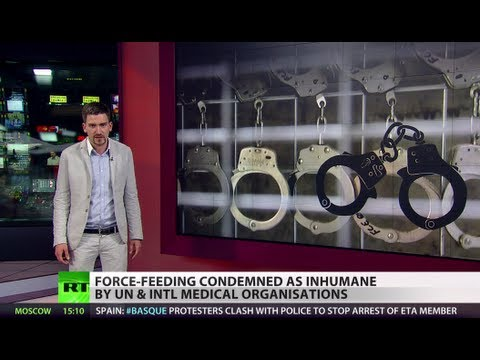 Hunger Hell: Gitmo force-feeding in handcuffs 'medical aid, not torture'