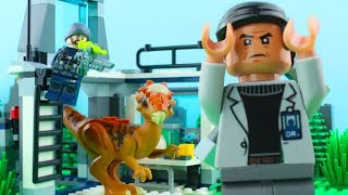 LEGO Jurassic World STOP MOTION LEGO Jurassic World: Stygimoloch Breakout | #LEGO | Billy Bricks