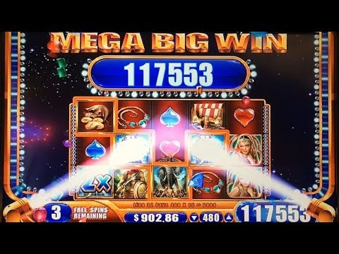 JACKPOT HANDPAY! Alexander the Great Slot Machine Bonus MEGA BIG WIN Max Bet