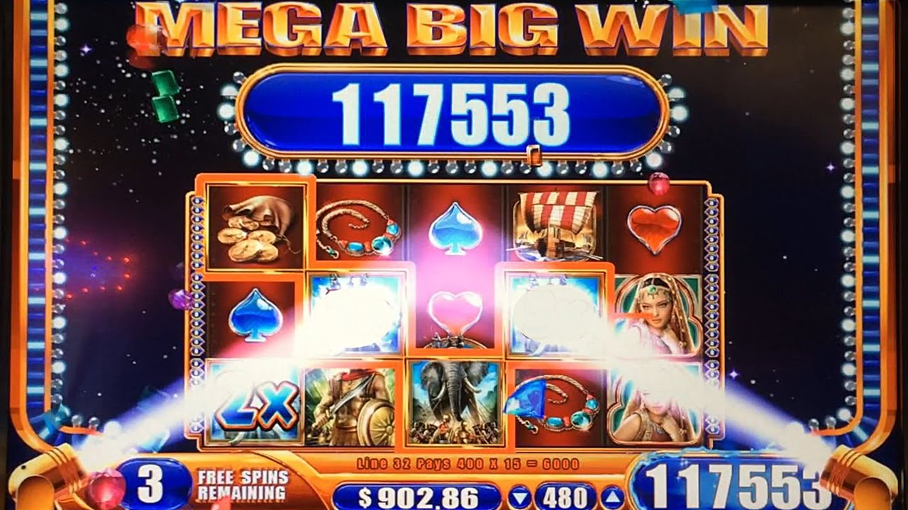 flintstones slot machine mega big win