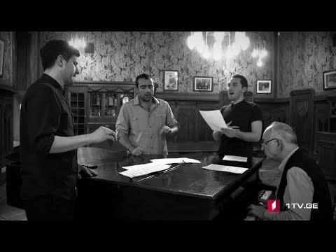 """""""ირი��ს"""" ს�ჩუქ�რი ევრ�პელ მ�ყურებელს! IRIAO - Amar Pelos Dois (Salvador Sobral)"""