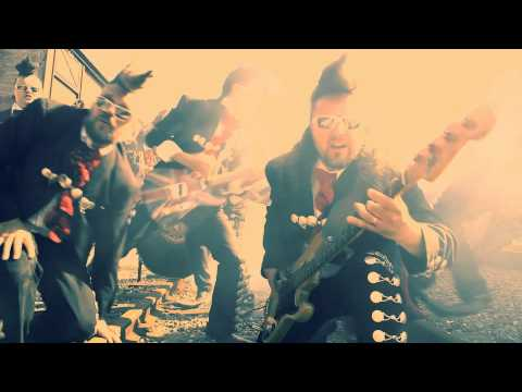 Leningrad Cowboys - Machine Gun Blues [HD]