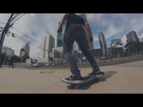 En Las Vueltas, Jerzick Oliveros, Javier Marin y Jose Luis Ouzande - Skateboarding Panama