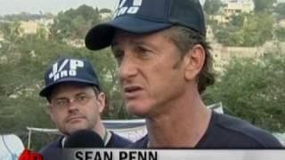 Sean Penn And Maria Bello Continue Haiti Aid