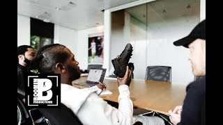 Antonio Brown Visits Nike Headquarters And Customizes Gear
