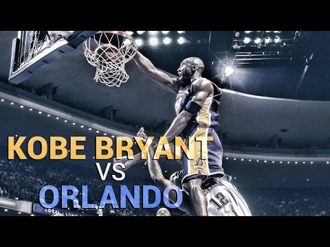 Kobe Bryant Vs. Orlando Magic