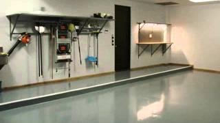 [Garage Floors-Lifetime Warranty!!] Video