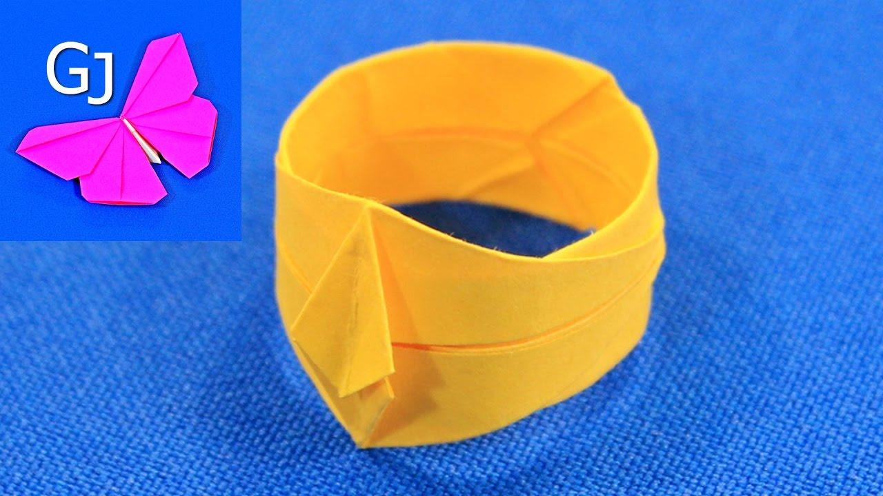 Как сделать летающее кольцо из бумаги