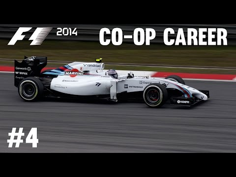 F1 2014 Co-op Career Mode Part 4 - Chinese Grand Prix