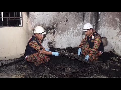 Asrama tahfiz terbakar ketika pelajar mengaji al-Quran