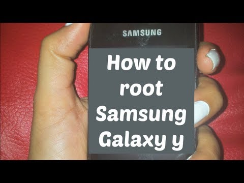 How to root Samsung Galaxy Y (young)