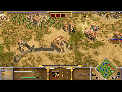 ArmyCore vs ChronoJJ PK Ro16 Game 1 - Age of Mythology: The Titans
