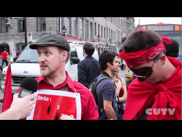 CUTVlol - The March 22 Protest in Montreal