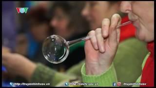 Ukraine: Ghé thăm xưởng thổi thủy tinh nhân mùa Giáng sinh