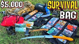 My $5000 Survival Kit (I brought the Kitchen Sink Too)
