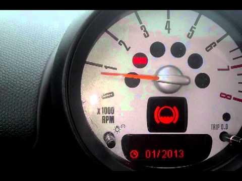 Bmw Dash Warning Lights >> Mini Cooper Reset Service, Brake Pad Reset, Spark plug Reset, Oil Service Reset R60 - YouTube