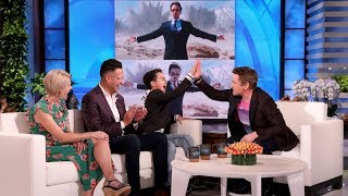 Robert Downey Jr. Meets Young Fan Whose Life Was Changed by Iron Man