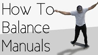 How To Balance Manuals