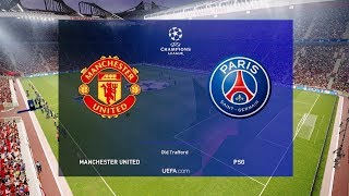 Manchester United vs PSG - Champions League 12 February 2019 Gameplay