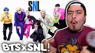 BTS SNL Boy With Luv & MIC Drop LIVE Performance REACTION