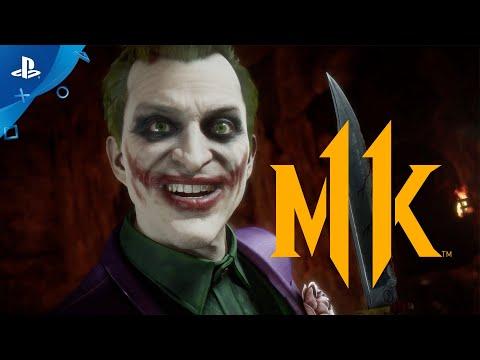 Mortal Kombat 11 Kombat Pack - The Joker Official Gameplay Trailer  PS4