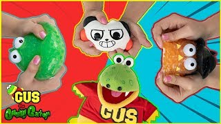Guess the Squishy Toy Challenge with Ryan ToysReview Ryan's World Toys!!!