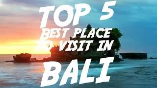 Download video TOP 5 Best Place To Visit In Bali | Visit Indonesia