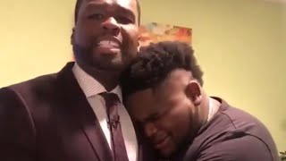 50 Cent Makes FatboySSE Cry After Making TV Dreams Come True At BET
