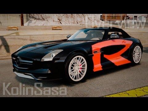 Mercedes-Benz SLS Roadster 2012 HAMANN HAWK AMG