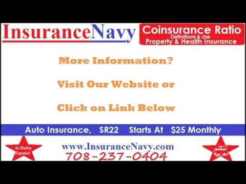 Coinsurance Penalty & Ratio by Chicago Auto Insurance