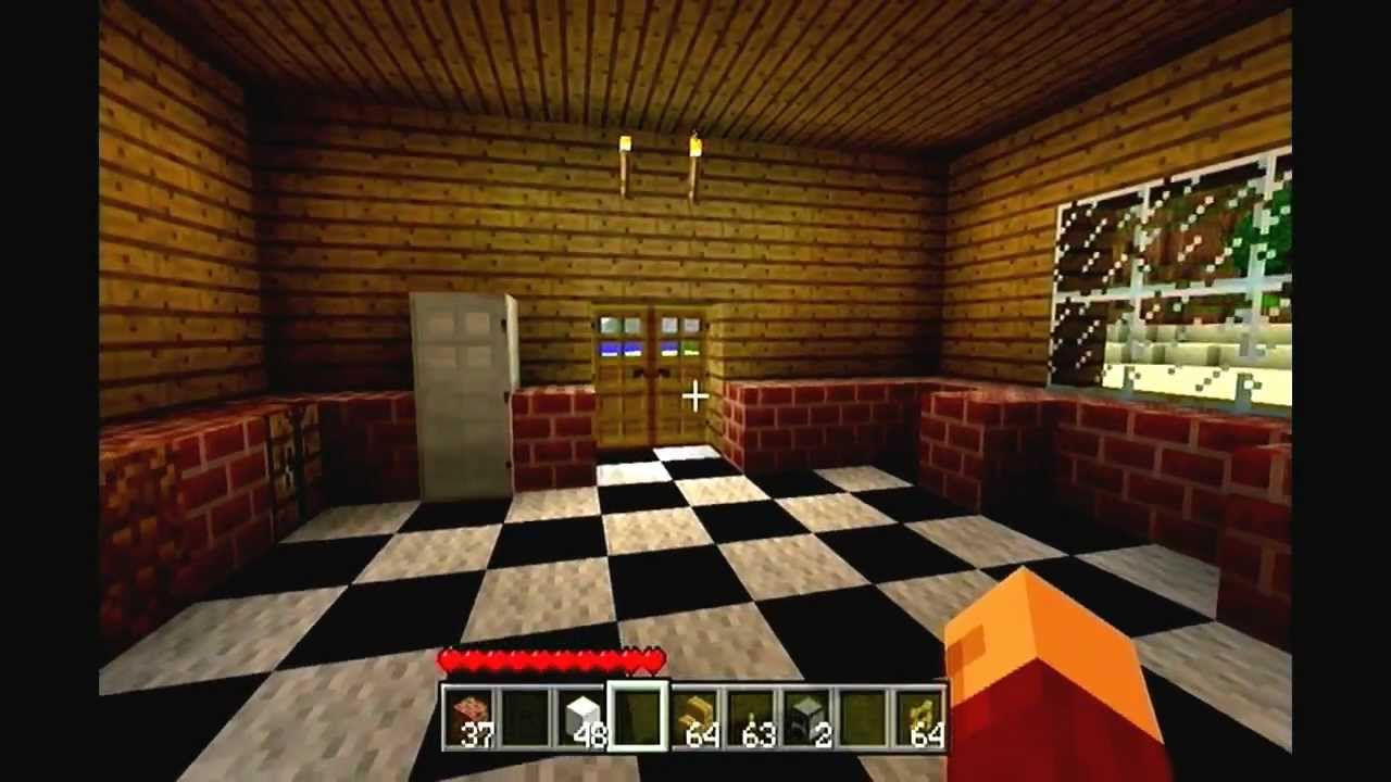 Minecraft Xbox 360 : How to build a kitchen. - YouTube