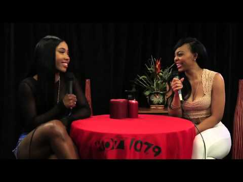 Sevyn Streeter Hot107 9 Birthday Bash 19 Backstage Interview