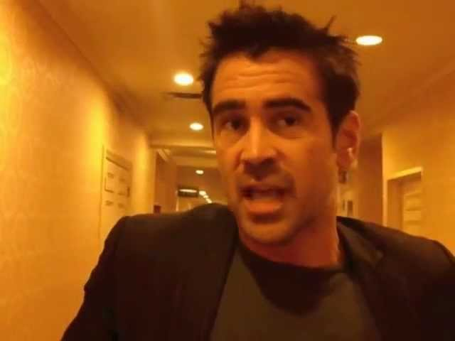 Colin Farrell bonds with Seven Psychopaths' director Martin McDonagh