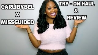 CARLI BYBEL X MISSGUIDED Try-on Haul/Review | Plus Size | PocketsandBows