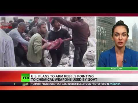 'Red Line' crossed: US to give military support to Syrian rebels